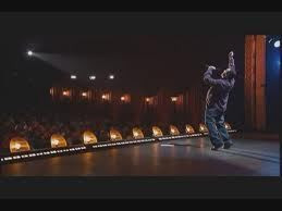 funny man on stage