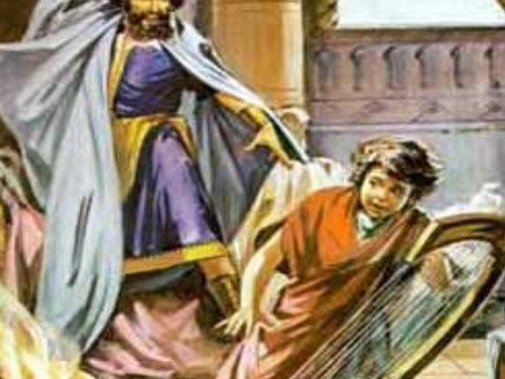 1 Samuel 17:57-18:5, 10-16 - The brotherly love of souls and the demonic possession of a king