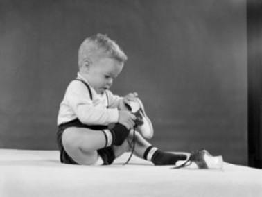child dressing self