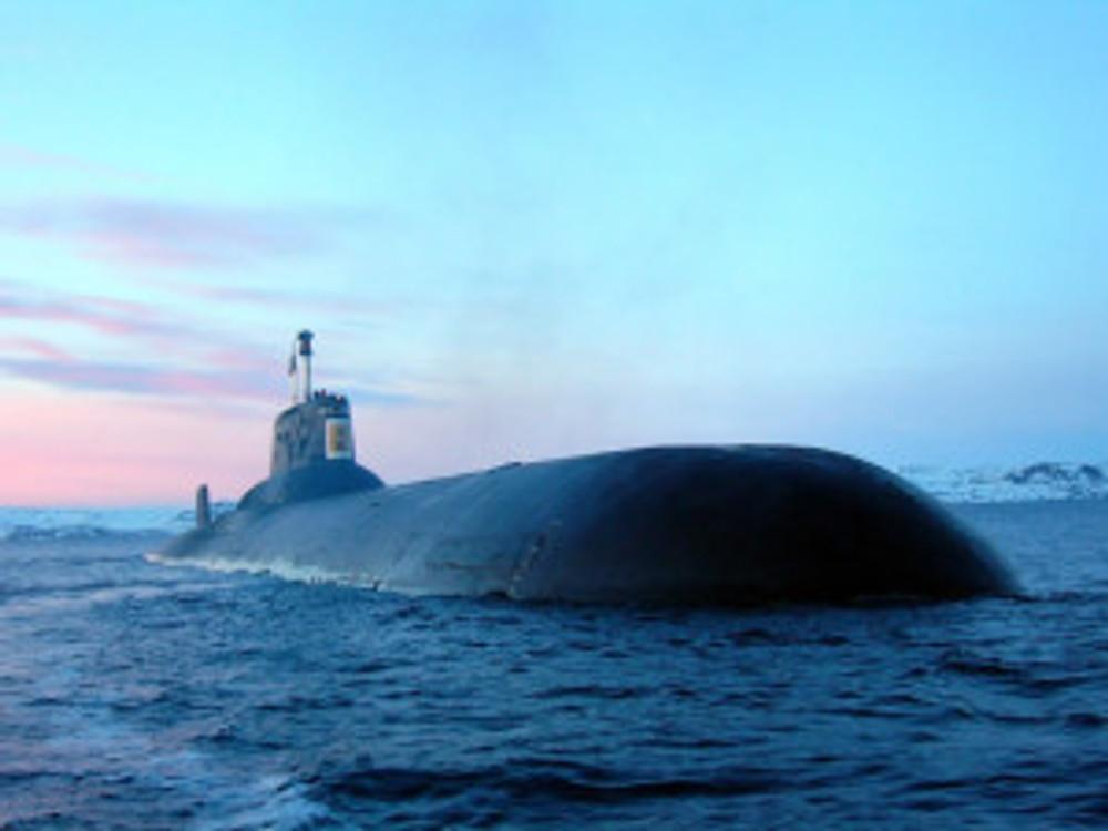 russian ballistic missile sub