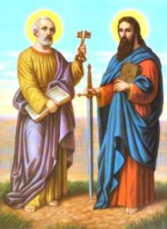 Saints Peter and Paul.