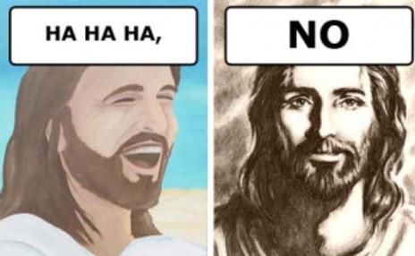Jesus No