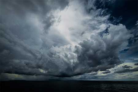 Psalm 107:1-3, 23-32 - Riding out the storm of contradictions