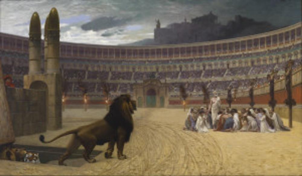 Christians vs Lions