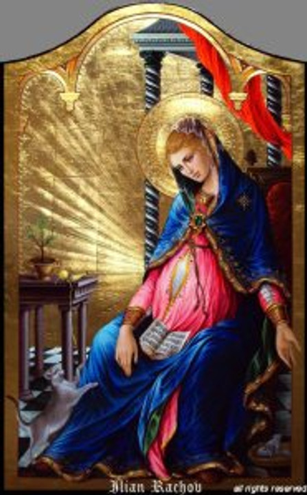 pregnant with Jesus