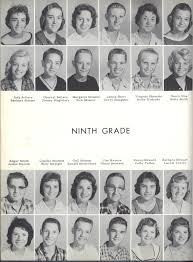 A random 60's yearbook example, but not me.