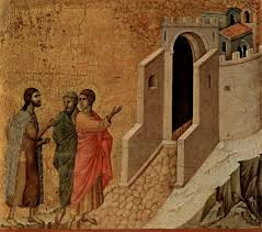 We all walk the road to Emmaus  and never recognize Jesus is with us too, waiting to be invited in t