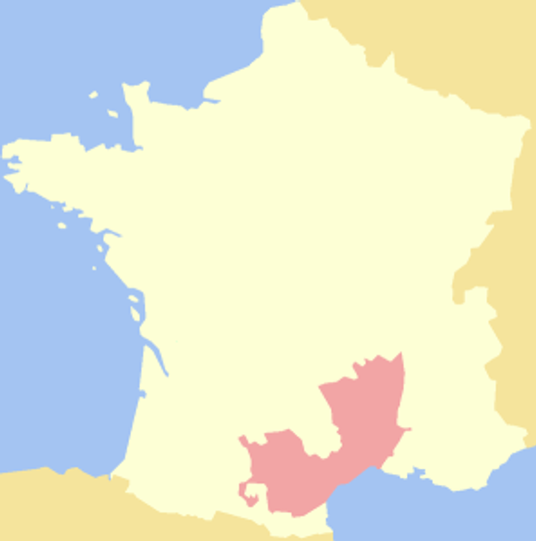 Southeast France, with overlap