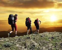 Get your climbing boots on and let's climb a high mountain to speak with God