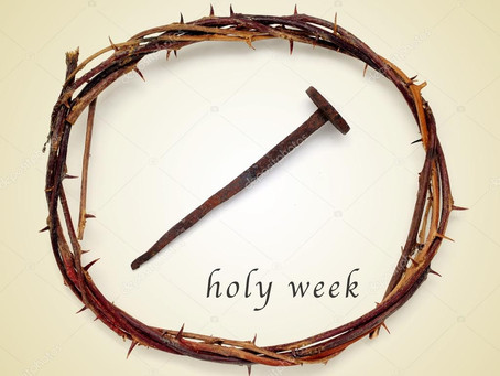 Mark 14:1-15:47 – From Lent to a New View of Holy Week