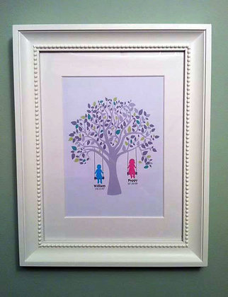 Family tree - A4 print