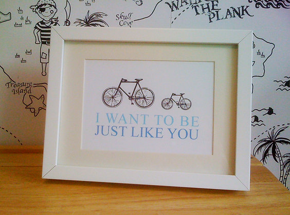 I want to be just like you - A4 print