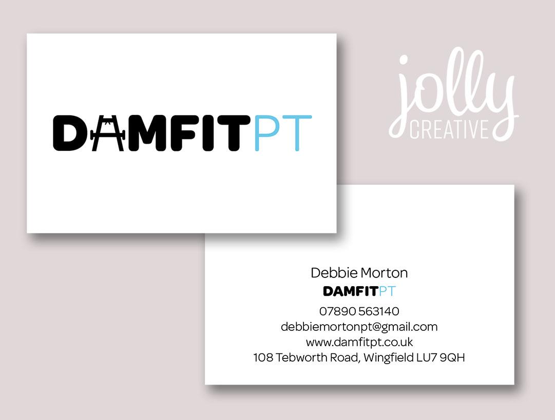 DAMFITPT Business card