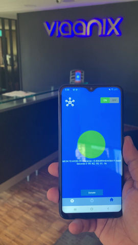 First video of our app