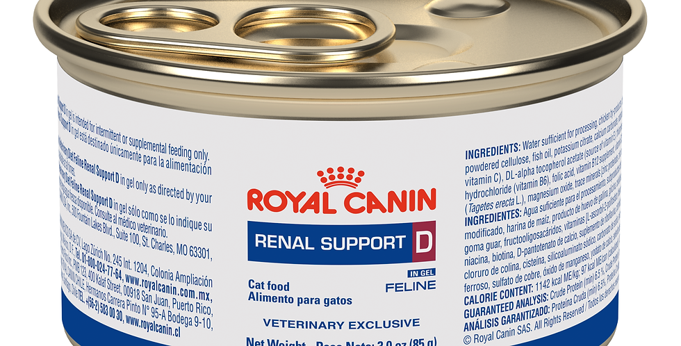 Royal Canin Lata Renal Support D Feline