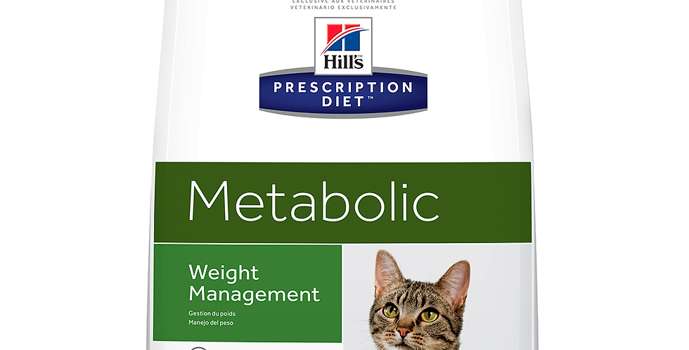 Hill's Prescription Diet Metabolic Mantto. y Cuidado del Peso Alimento para Gato
