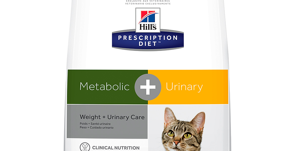 Hill's Prescription Diet Metabolic + Urinary  para Gato