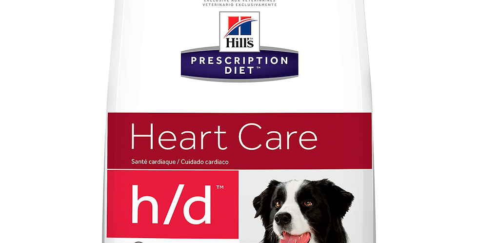Hill's Prescription Diet h/d Cuidado del corazon Alimento para Perro