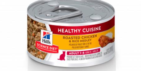 Hill's Lata feline healthy cuisine adulto