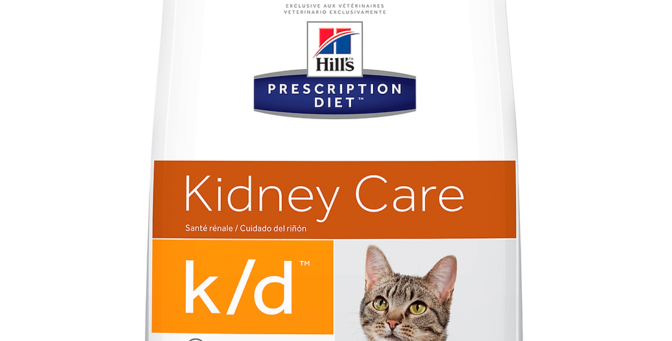 Hill's Prescription Diet k/d Salud renal Alimento para Gato