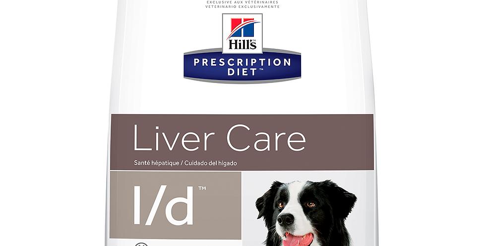 Hill's Prescription Diet l/d Salud hepatica Alimento para Perro