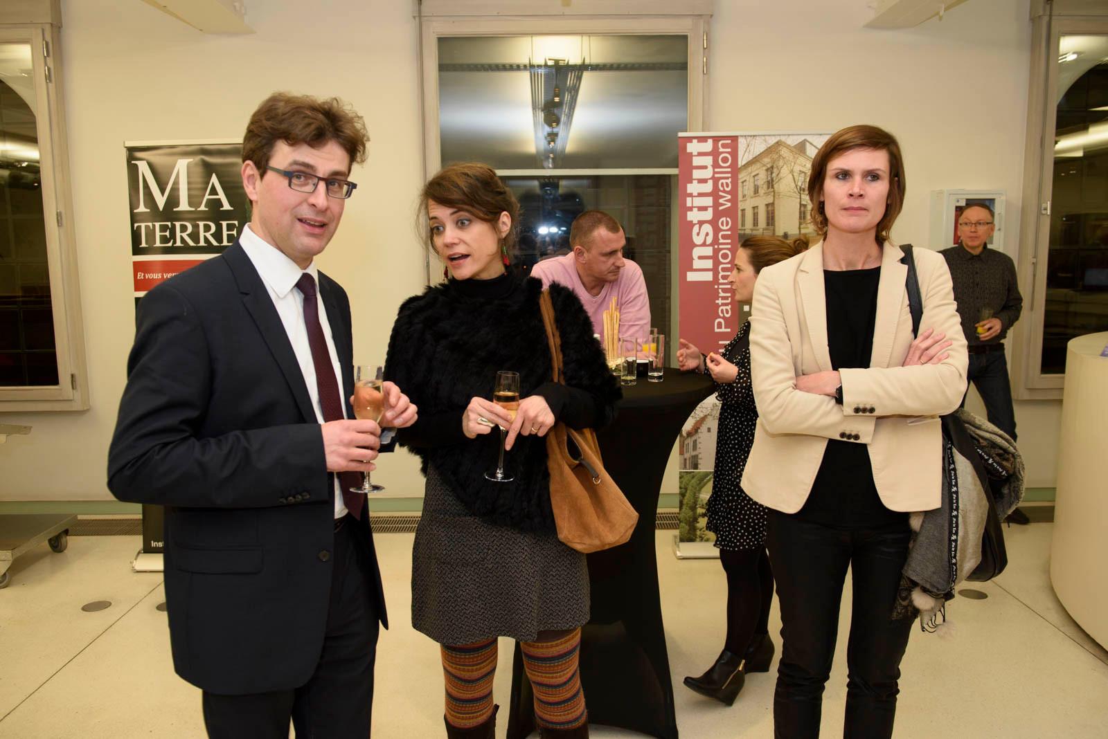Julien Maquet, Séverine Monjoie et Ingrid Boxus