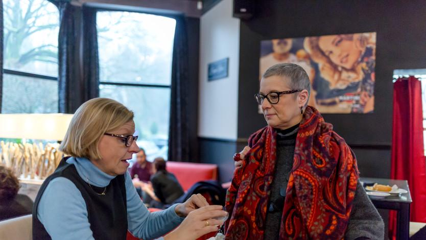 Corinne Roger et Natacha Polet