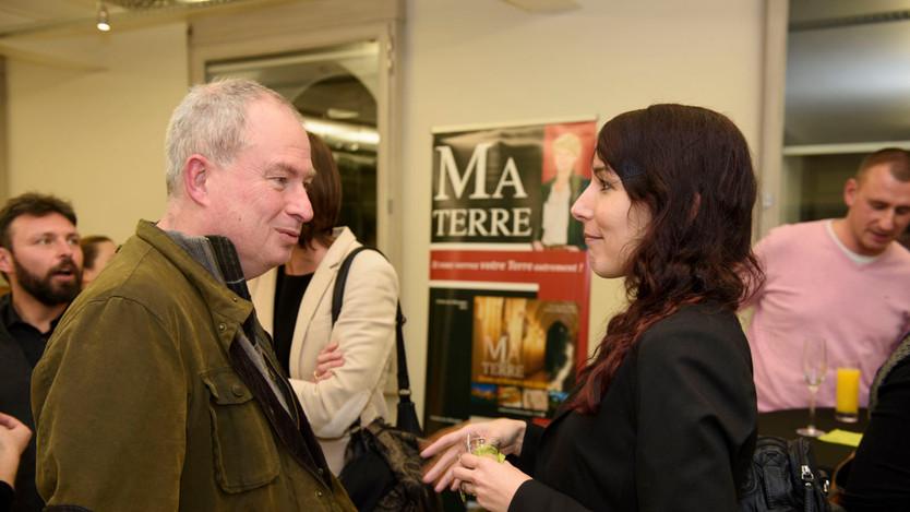 Philippe Mattart avec Sophie Damoiseau