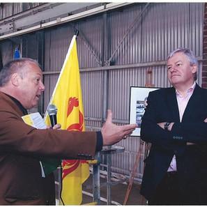 bis. Journée Portes ouvertes et visite du Ministre Marcourt en 2009