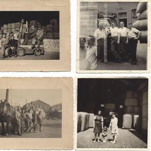 Photos offertes en 2018 par Mme Annette Königs, née en 1962, fille du concierge du Solvent Pierre Könings