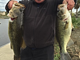 Weather was bad, but the fishing was good at the Delta!