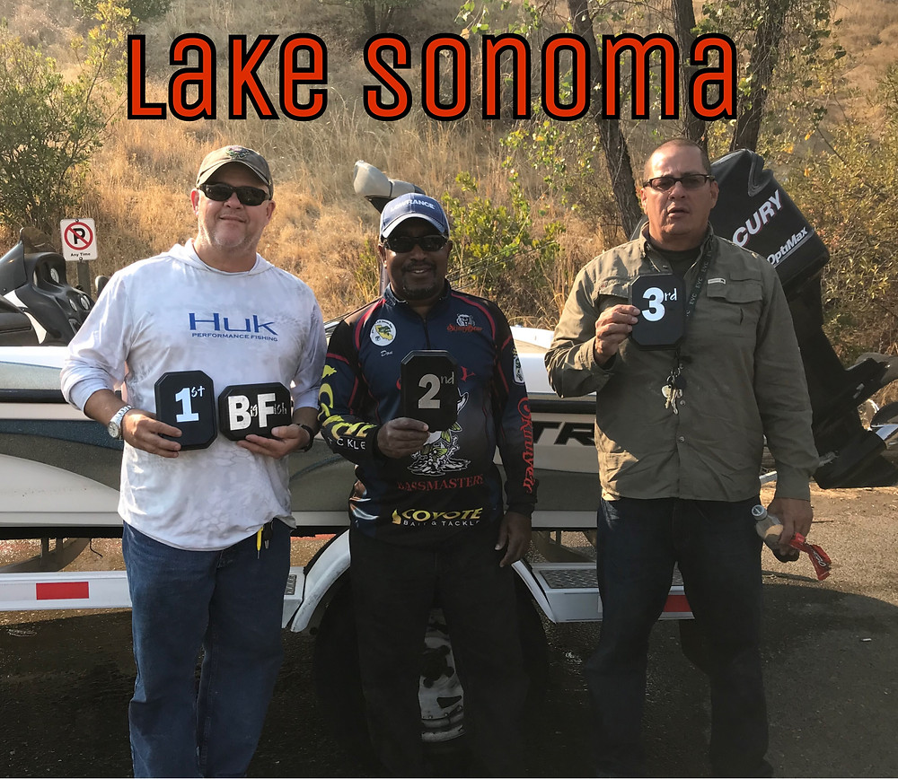 Mario takes the W on Lake Sonoma