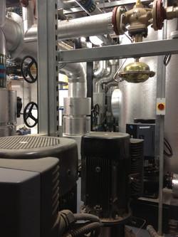 Major heating works CHP