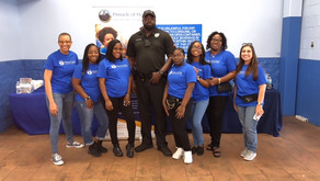 shop with a Cop- back to school event