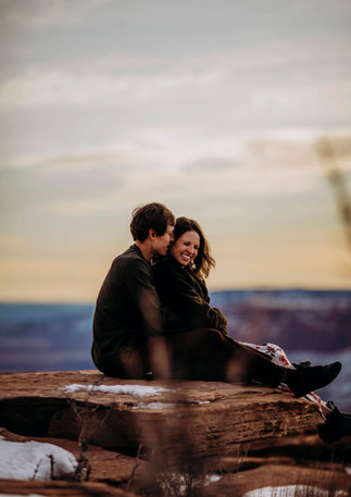 Suzanna and David - adventure couples session