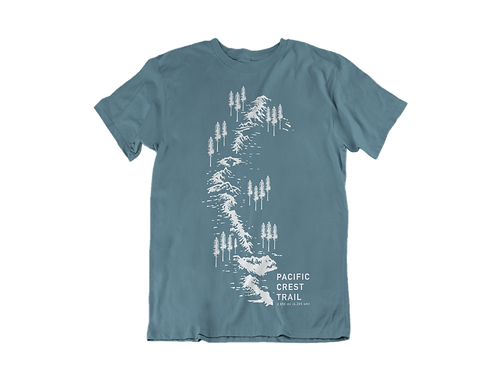 Pacific Crest Trail t-shirt (slate)
