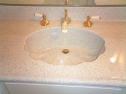 Cultured Marble Vanity After
