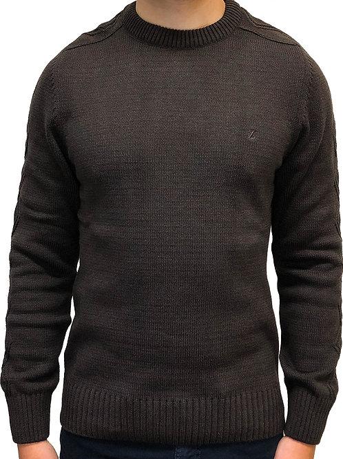 Suéter Decote Redondo