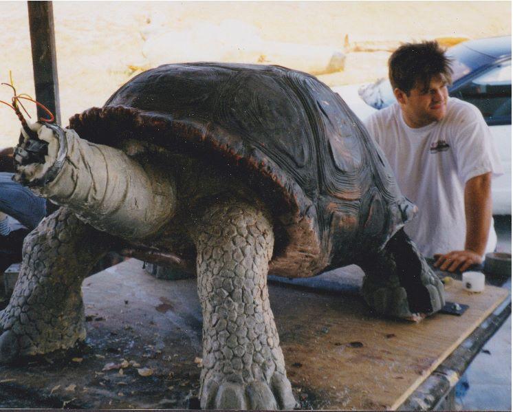 Sculpting turtles