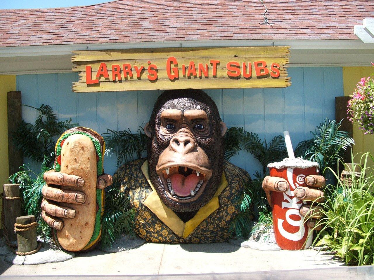 Larrys Giant Subs Jeckyl Island GA