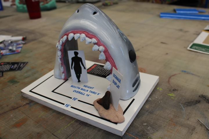 Shark tooth cove model