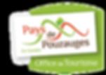 logo_ de l'office de tourisme du pays de pouzauges  partenaire des moulins du Terrier Marteau