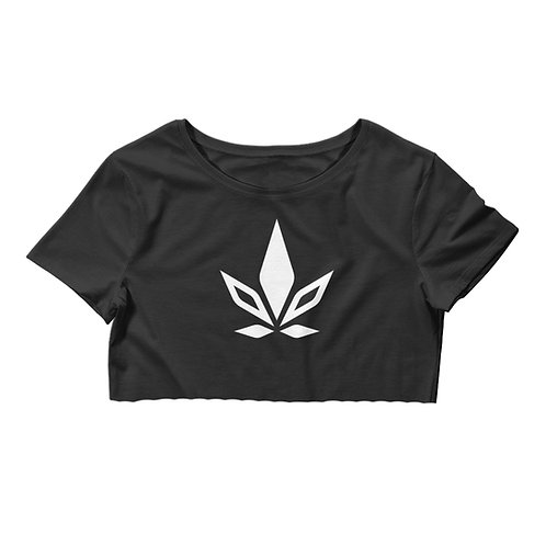 Raw Hem Crop Top