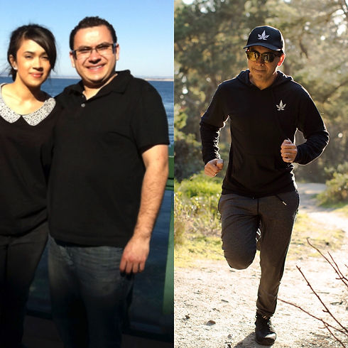 Stigma Co-Founder, Anthony Gonzales, Combined diet, exercise, and cannabis to support his weight loss journey.