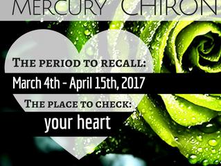 Venus & Mercury conjunct Chiron