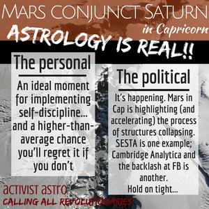 Mars Conjunct Saturn in Capricorn
