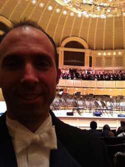Symphony Hall, Chicago, IL March 201