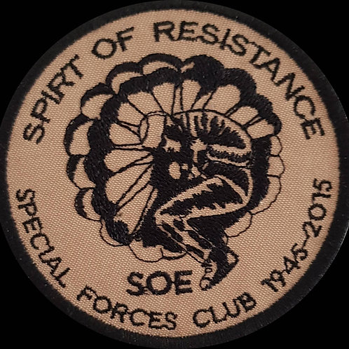 Spirit of Resistance Embroidered Military Flash Patch 215