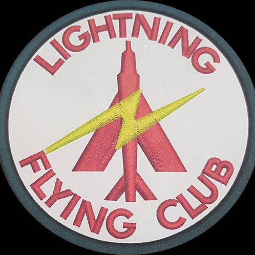 Lightning Flying Club Embroidered Military Flash Patch 201