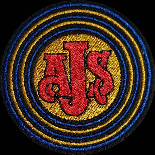 AJS 1 Embroidered Biker Patch